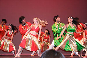 Bollywood dance lessons