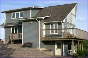 Large Luxury house rental , including electrical , propane