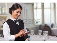 Waitress Kingston Surbiton starting from £7.50