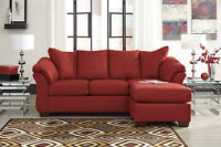 ASHLEY FURNITURE SALE !!! SOFA WITH CHAISE FOR $699 ONLY
