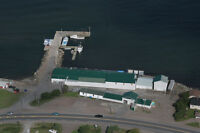 Ocean Front Property and Industrial Structures at Canso Causeway