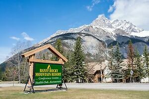 XMAS WEEK, BANFF, AB, DEC 22-29, 2019, 2-BED CONDO AT RMR $3500