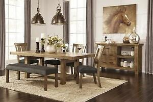 SOLID WOOD DINING TABLE - VISIT WWW.KITCHENANDCOUCH.COM (BD-1170)