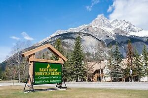 XMAS SPECIAL, DEC. 23-30/18, BANFF ROCKY MOUNTAIN RESORT,  $1500