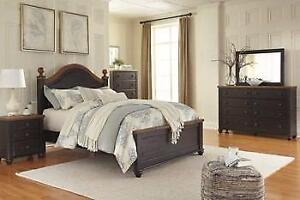 ASHLEY QUEEN BEDROOM COLLECTION - ASH12- B220 (BF-208)