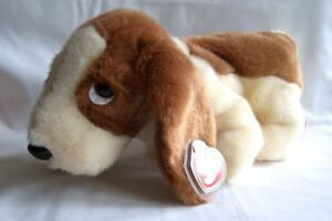 Tracker the Basset Hound Ty Beanie Buddy stuffed animal
