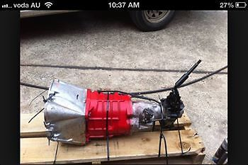 TORANA 6 CYL M20 FULL RECO BOX WITH SHITER AND LINKAGES
