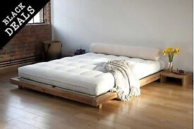 Futon Company Platform Bed with tatami mats