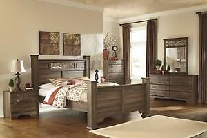 ASHLEY QUEEN BEDROOM COLLECTION - ASH12- B216 (ASH28)