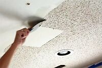 Drywall and stipple removal