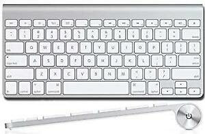 Wireless Apple keyboard and mouse for $60 for the pair