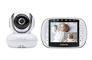 Motorola MBP36S Wireless Video Baby Monitor with 3.5 Inch Color
