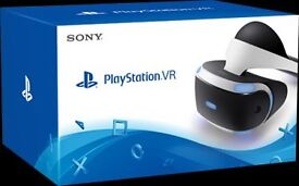 ps4 vr headset including games, motion controlers & ps4 camera