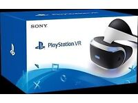 Brand new PlayStation 4 virtual reality
