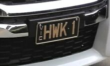 Hawthorn Hawks AFL football #1FAN registered number plates Carnegie Glen Eira Area Preview