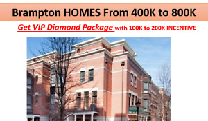 Resale Brampton Homes From $400,000 !!!