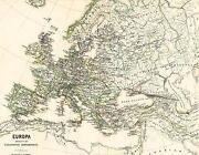 Landkarte Europa