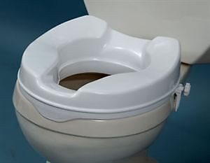 raised toilet seat, commode