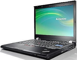 MEGA SOLDES : Portable Lenovo Thinkpad T61 Core 2 Duo - 160GB - Écran 15 - WIFI  avec Windows 7