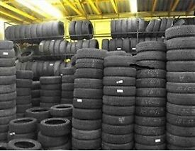LARGE STOCK OF BRANDED PARTWORN TYRES