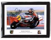 Barry Sheene Signed