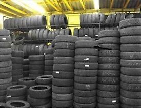 PARTWORN TYRES ALL DIFFERENT SIZES