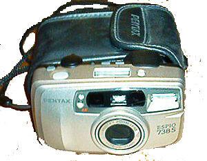 Caméra Pentax Espio 738S 35mm Camera Saint-Hyacinthe Québec image 1