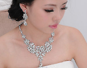 WEDDING JEWLERY SETS great for a fancy party! New! Never used!