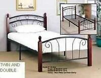 twin / double / queen BED FRAMES ON SALE 647 709 1232 *****
