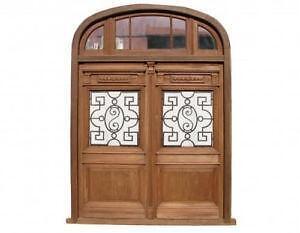 Double Front Entry Door