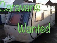 Caravans wanted
