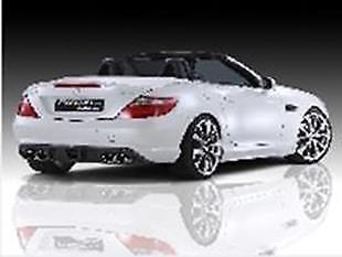 Für Mercedes SLK R172 Heckspoiler Spoilerlippe Lippe Spoiler Heckspoilerlippe
