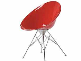 New exdisplay - Kartell Ero-s poly chairs x4 rrp £300 each