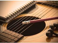 Guitar lessons in Aldershot - Professional tuition in electric, acoustic or bass guitar available