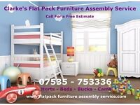 Clarke's Flat Pack Furniture Assembly Service For For Ikea--Next- Mothercare - Call Paul