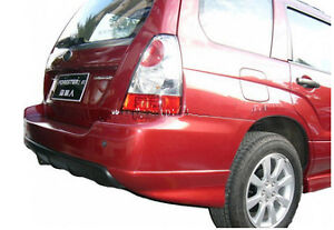 Forester-02-08-79v-PU-plastic-rear-pod-body-kit-bumper-bar-spoiler-led-lip-wing