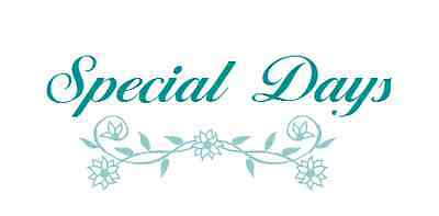 Special Days Stationery
