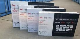 "TV FIRETV EDITIONAL JVC FROM 40INCH TILL 55"" ALM SMART 4K ULTRA HD HDR"