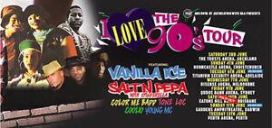 2 x tickets- 'I love the 90's' concert. Ballarat Central Ballarat City Preview