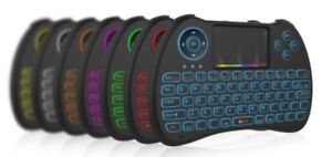 New H9 2.4G Mini Wireless Gaming Backlit Keyboard With RGB