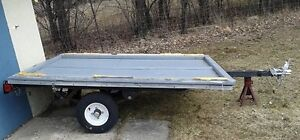 Small Light Utility trailer as is