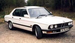1984 BMW 5 Sedan Birmingham Gardens Newcastle Area Preview