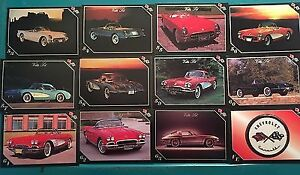 corvette  collector cards