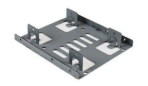 """StarTech Dual 2.5"""" to 3.5"""" HDD Bracket for SATA Hard Drives for"""