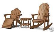 Adirondack Chair Pattern