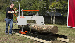Timbery Portable Sawmills starting at $94 per month!
