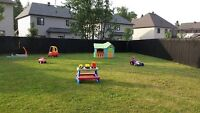 Private Home daycare - two spots available -