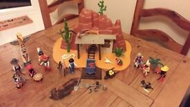 Original Wild West playmobile set