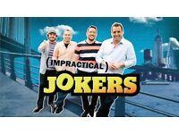 Pair of Impractical jokers tickets 6th row/merchandise package!!