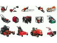 Petrol lawnmower, strimmer, chainsaw, power tool and small engine service and repair